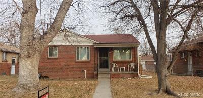 Denver Single Family Home Under Contract: 3264 Niagara Street