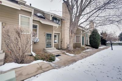 Lakewood Condo/Townhouse Under Contract: 8759 West Cornell Avenue #22-5
