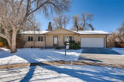 Centennial Single Family Home Under Contract: 5005 East Weaver Avenue