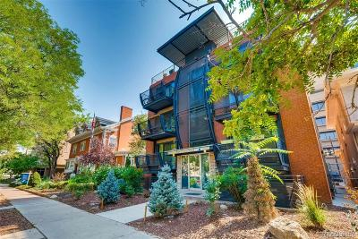 Denver Condo/Townhouse Active: 1336 North Logan Street #203