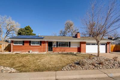 Littleton Single Family Home Under Contract: 389 West Caley Drive