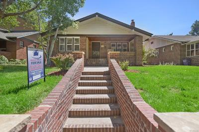 Denver Single Family Home Active: 1744 Clermont Street