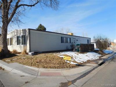 Federal Heights Single Family Home Active: 2001 Moselle Street