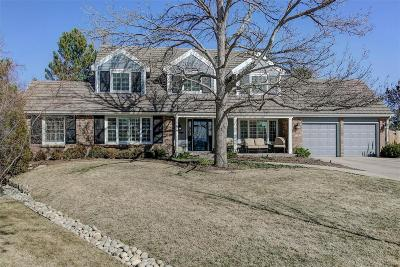 Centennial Single Family Home Under Contract: 7097 East Hinsdale Avenue