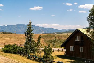 Routt County Single Family Home Active: 27985 County Road 42