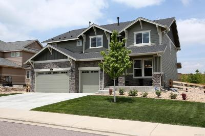 Castle Rock Single Family Home Active: 2771 Mashie Circle