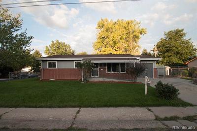 Arvada CO Single Family Home Active: $489,900