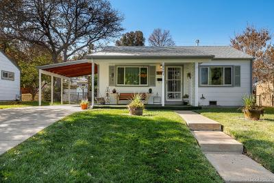 Denver Single Family Home Active: 2261 South King Street