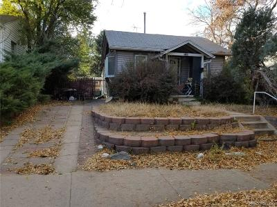 Denver Single Family Home Active: 2165 South Lafayette Street
