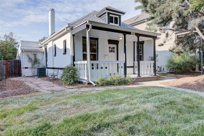 Denver Single Family Home Active: 3360 West 35th Avenue