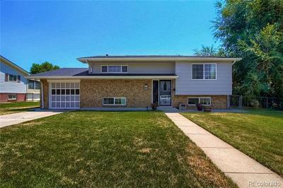 Wheat Ridge Single Family Home Active: 4632 Everett Court