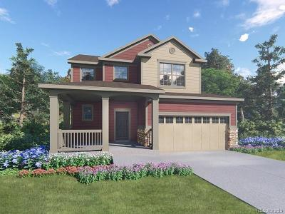 Centennial Single Family Home Under Contract: 8217 South Trails Edge Way