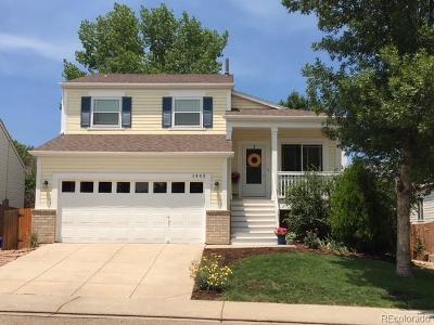 Longmont Single Family Home Active: 1443 Wildrose Drive