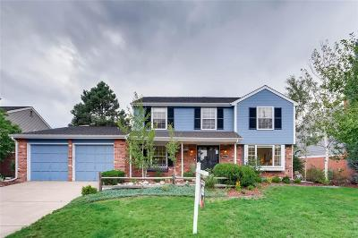 Centennial Single Family Home Active: 6400 East Jamison Circle