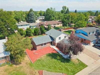 Littleton Single Family Home Active: 6517 West Nova Drive