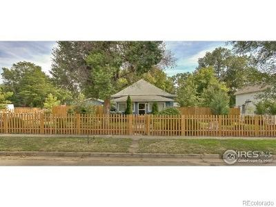 Boulder County Single Family Home Active: 444 Atwood Street