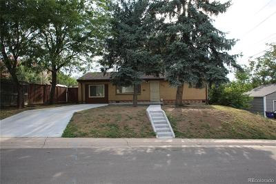 Denver Single Family Home Under Contract: 211 South Vrain Street