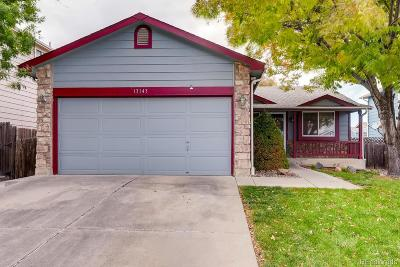 Westminster Single Family Home Under Contract: 13143 Tejon Street