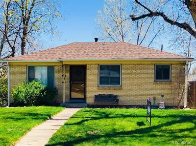 Englewood Single Family Home Active: 3142 South Corona Street