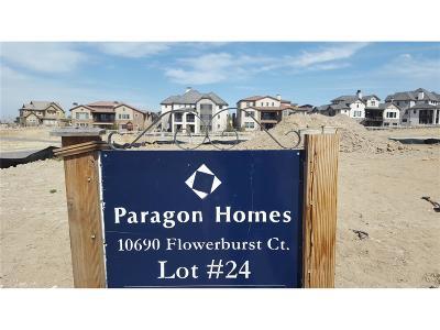 Highlands Ranch Residential Lots & Land Sold: 10690 Flowerburst Court