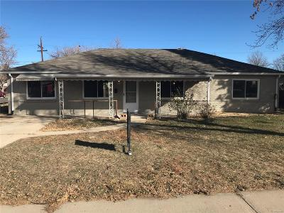 Aurora, Denver Single Family Home Under Contract: 780 Tucson Street