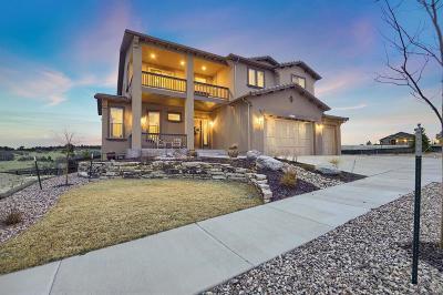 Colorado Springs Single Family Home Active: 4568 Outlook Ridge Trail