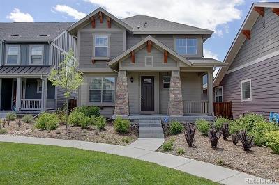 Stapleton Single Family Home Active: 5439 Uinta Street