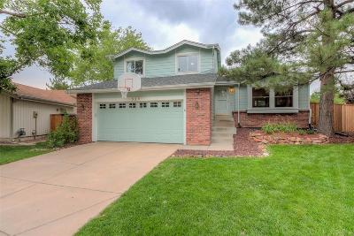 Highlands Ranch Single Family Home Under Contract: 525 Larkspur Place