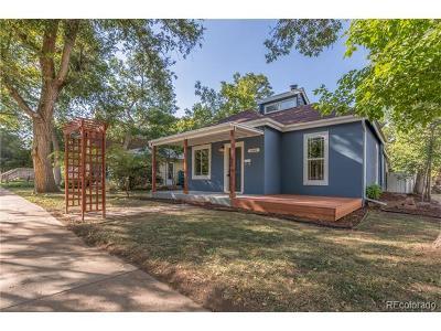 Boulder Single Family Home Active: 2045 Grove Street