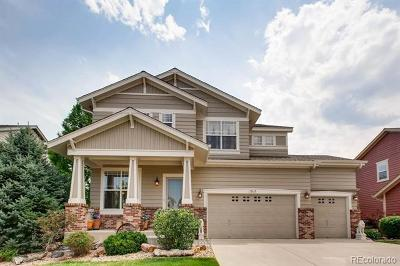 Littleton Single Family Home Active: 10610 Kicking Horse Drive