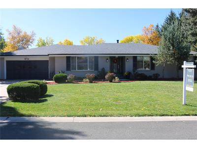 Cherry Hills Village Single Family Home Under Contract: 5720 East Princeton Avenue