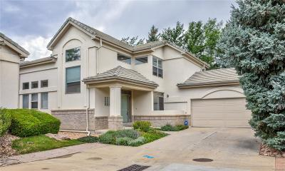 Englewood Single Family Home Active: 9631 East Arbor Place