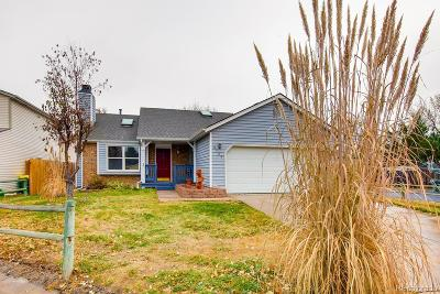 Parker Single Family Home Under Contract: 8384 Prairie Clover Way