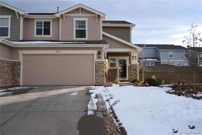 Castle Rock CO Condo/Townhouse Active: $335,000