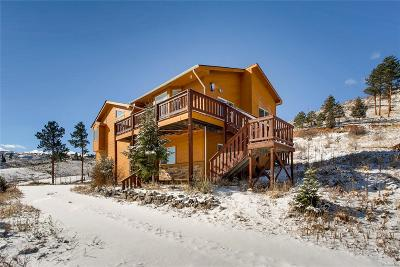 Pine Single Family Home Under Contract: 15549 Ouray Road