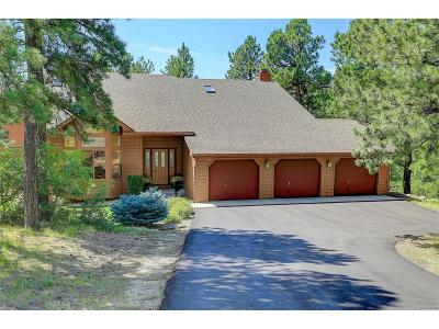 Franktown Single Family Home Active: 1351 Meadow Trail