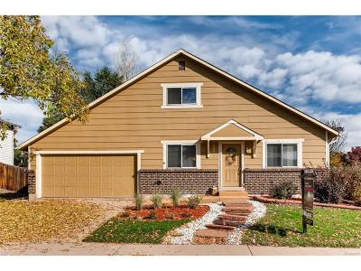 Littleton Single Family Home Under Contract: 9481 West Lake Avenue