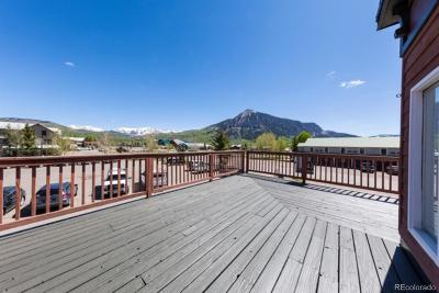Crested Butte Condo/Townhouse Active: 717 6th Street #F