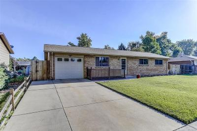 Longmont Single Family Home Under Contract: 626 Hubbard Drive
