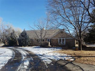 Greenwood Village Single Family Home Under Contract: 5700 South University Boulevard