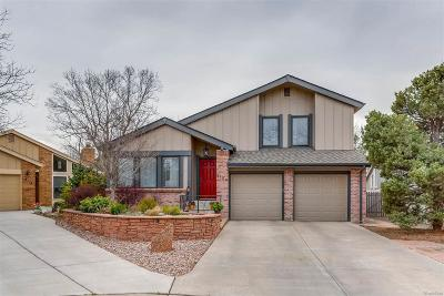 Centennial Single Family Home Active: 8164 East Mineral Drive