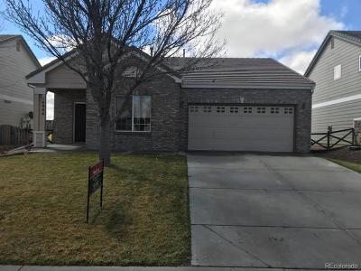 Commerce City Single Family Home Under Contract: 14944 East 116th Drive