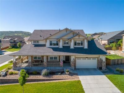 Castle Rock Single Family Home Under Contract: 2714 Mashie Circle