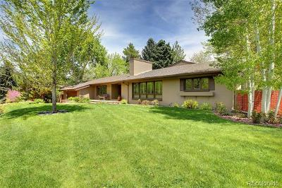 Englewood CO Single Family Home Active: $1,495,000