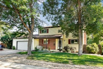 Arvada Single Family Home Under Contract: 10813 West 61st Avenue