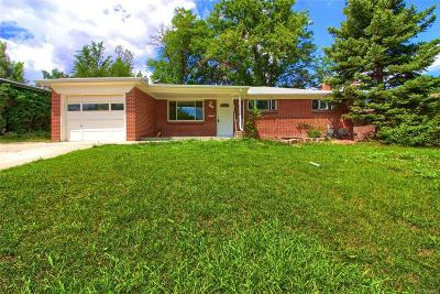 Broomfield Single Family Home Under Contract: 155 Jade Street