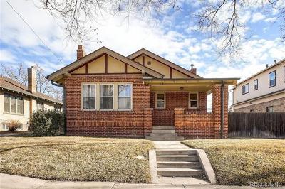 Denver Single Family Home Active: 346 South Williams Street