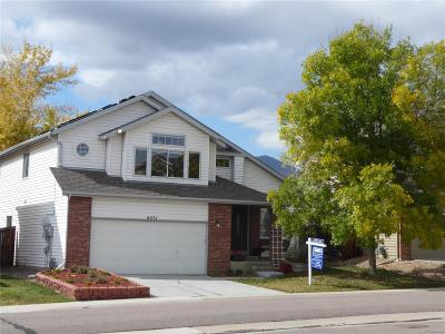 Littleton Single Family Home Active: 6531 South Simms Way