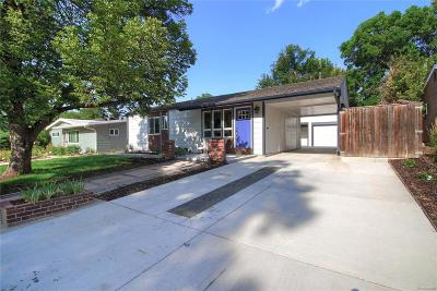 Denver Single Family Home Active: 1470 South Jersey Way