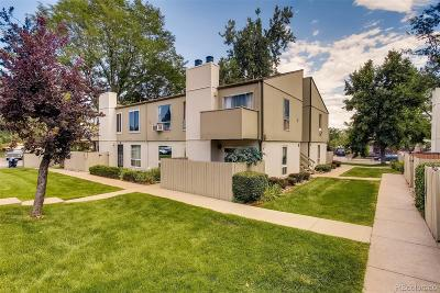 Castle Rock, Conifer, Cherry Hills Village, Greenwood Village, Englewood, Lakewood, Denver Condo/Townhouse Active: 7373 West Florida Avenue #12D